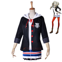 Athemis Game Cosplay Costumes Futaba Sakura Persona 5 Leader Cosplay Costume Custom Made Size