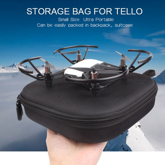 ABHU-Portable Handheld Eva Storage Bag Waterproof for Dji Tello Handbag Carrying Case Protective Box 6