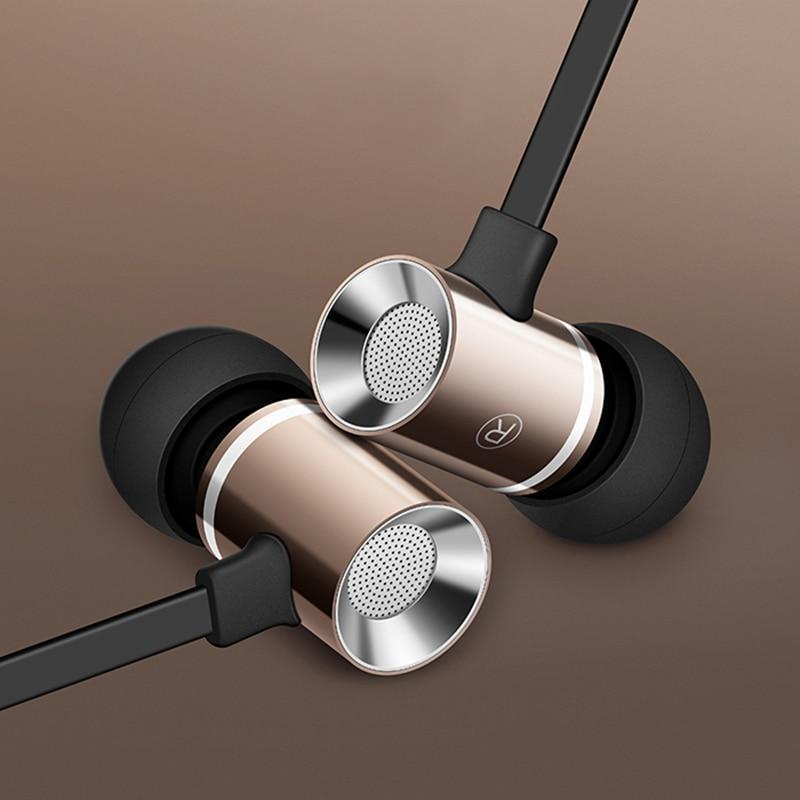 In-Ear Micro Metal Earphone Headset Mini Ear Bass Earbuds Stereo Sport Headphone for Phone Xiaomi Samsung Apple iPhone 7 6 5 4