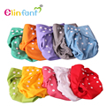 Elinfant one size summer cloth diaper cover wrap to use with flat or fitted diaper with gussets waterproof  reusable  SMT046