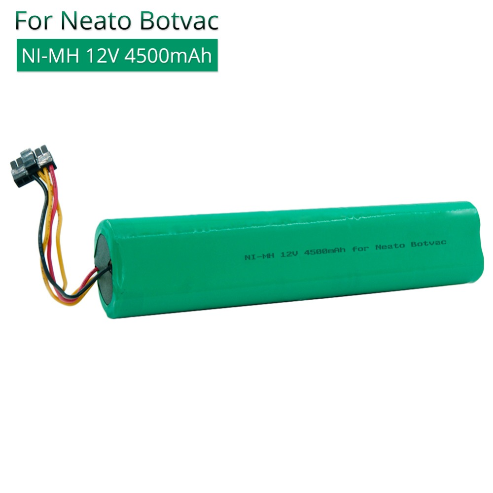 Rechargeable battery 12V 4500mAh Nimh Ni-Mh Vacuum Cleaners replacement batteries for Neato Botvac D85 70e 75 80 D75 caSino187 Rechargeable battery 12V 4500mAh Nimh Ni-Mh Vacuum Cleaners replacement batteries for Neato Botvac D85 70e 75 80 D75 caSino187