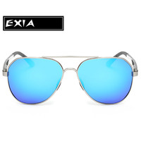 Blue Sun Glasses Male Polarized Lenses UV400 Top Quality Brand EXIA OPTICAL KD-8125 Series
