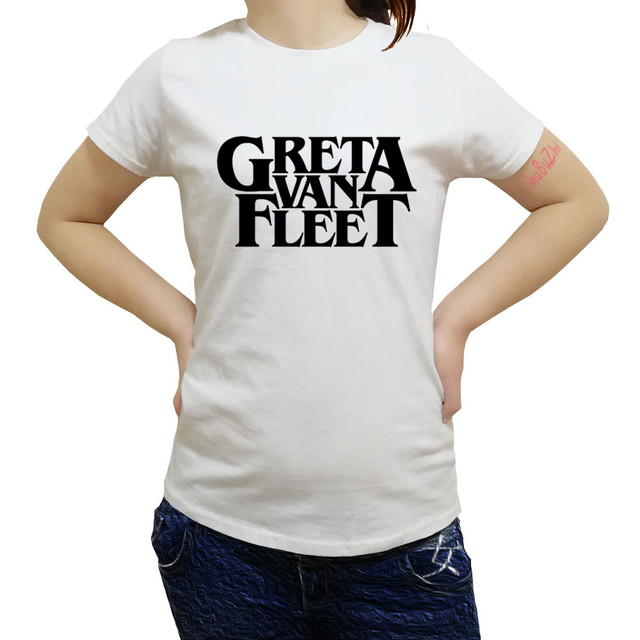 3d9ac7895a drop shipping Greta Van Fleet - rock band shubuzhi women t-shirt summer hot  sale cotton 100% casual o-neck t shirt fashion tees