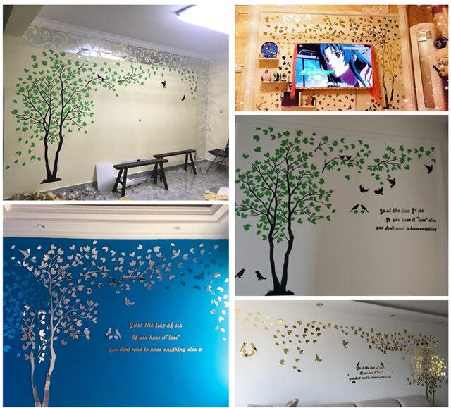 3D Tree Acrylic Wall Stickers 4