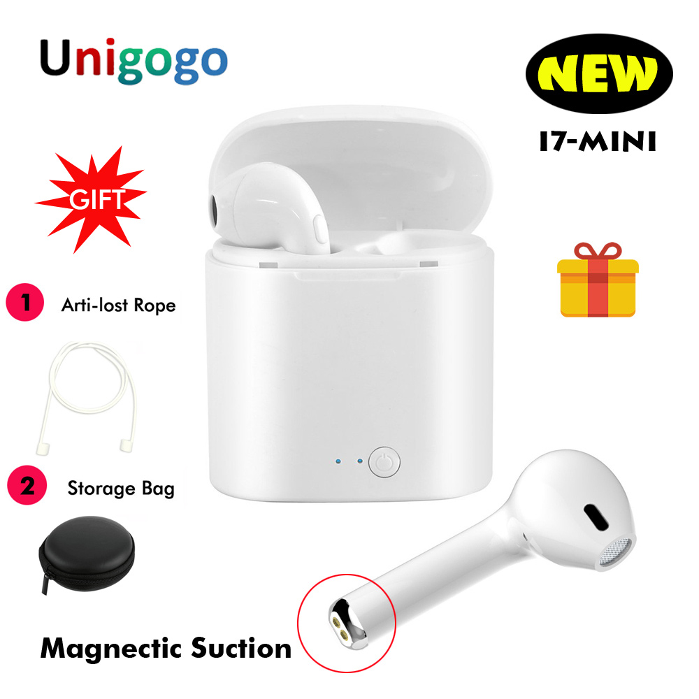 New I7 Mini TWS Headphones Cordless Earphones Wireless Bluetooth Earbuds Headset for iphone Air Pods Samsung Xiaomi Pk I7s Tws