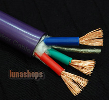 1m prism bi-wire speaker cable by tara labs.inc SA-OF8N Copper