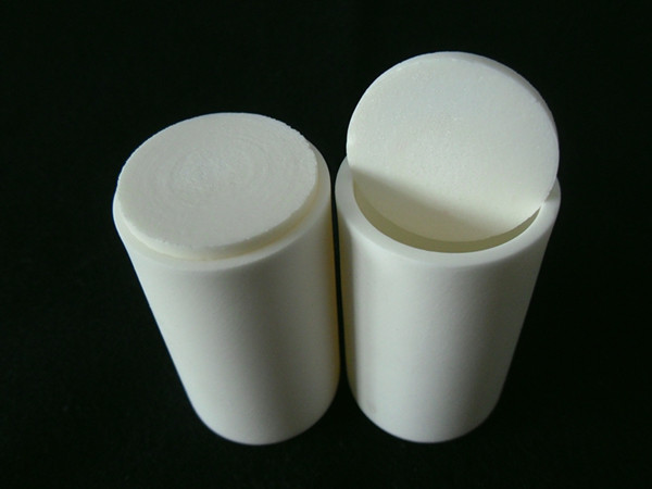 99.3% Alumina Crucible With Lids / 40ml / Cylindrical Corundum Crucible / Ceramic Crucible