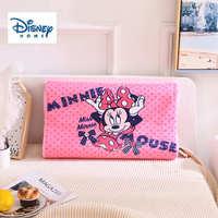 New disney pink dot minne memory latex pillow for baby girl bedding nursery neck health pillow body sleeping travel slow rebound