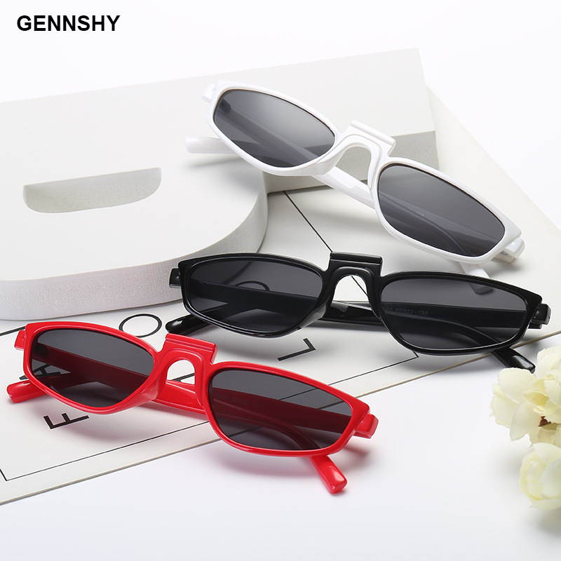 2018 New Fashion Sunglasses Women Unique Design Sunglasses Men Retro Small Frame Sunglasses Transparent Pink Frame Ocean Lens Bright In Colour