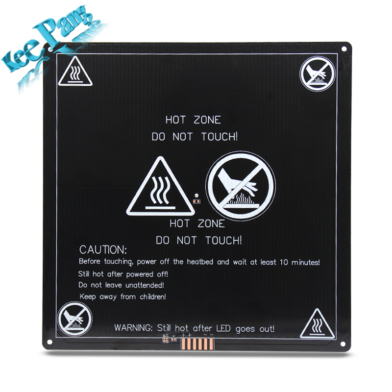 Upgraded Heated Bed 12V Round Corner MK3 Heatbed 3D Printers Parts Aluminum Plate 220mm*220mm*3mm Hotbed Black Heat Heating Part anet a6 a8 mk3 12v heatbed aluminum heated bed 220mm 220mm 3mm mk2b & mk2a for mendel reprap i3 3d printer hotbed with cable