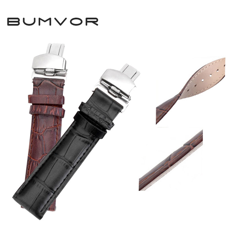 New watch bracelet belt watch band watchbands strap 16mm 18mm 20mm 22mm watch accessories wristband genuine leather цена