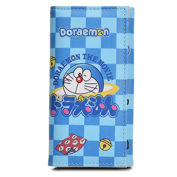 Women Wallets Doraemon Coin Purse Pocket Lady Purses Cards ID Holder Handbags Moneybags Clutch Female Wallet Cartoon Girls Bags anime cartoon wallets bifold game pokemon go pikachu wallet for teenager women men pocket monster purse coin purses holders