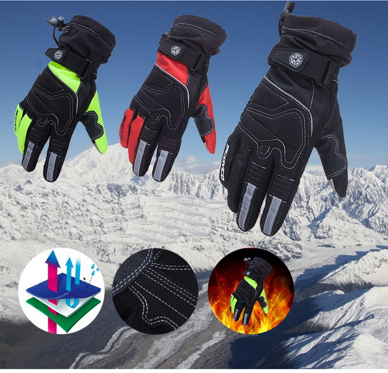 2016 New Scoyco parts waterproof weatherization riding gloves motorcycle gloves racing gloves MC30 3 colors and size M L XL XXL