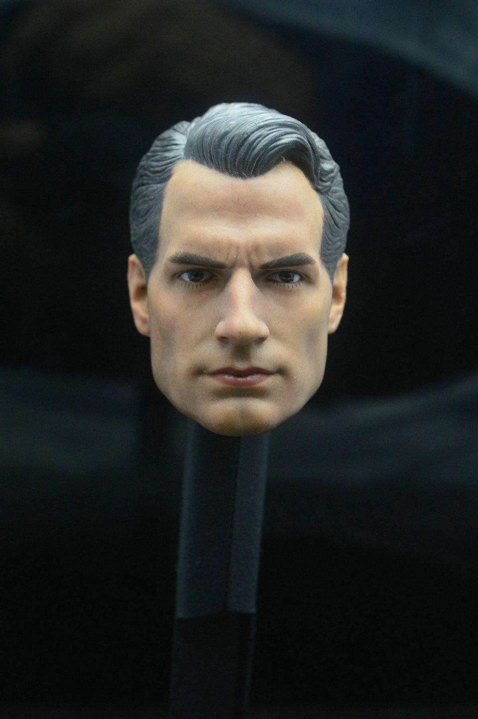 "1:6 Scale Superman Hero Henry Cavill Head Sculpt Fit 12/"" Male Action Figure Body"