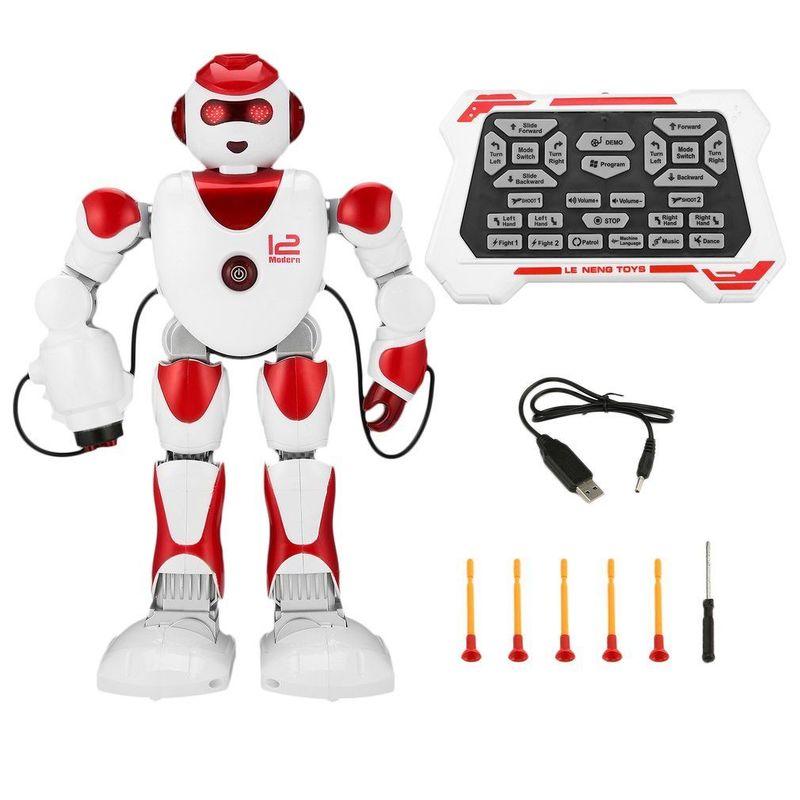 RC Robot Intelligent Intelligent Alpha Programmation Humanoïde RC Robot Jouets K2 Démo Chant Danse Robot Enfant Jouet Robots