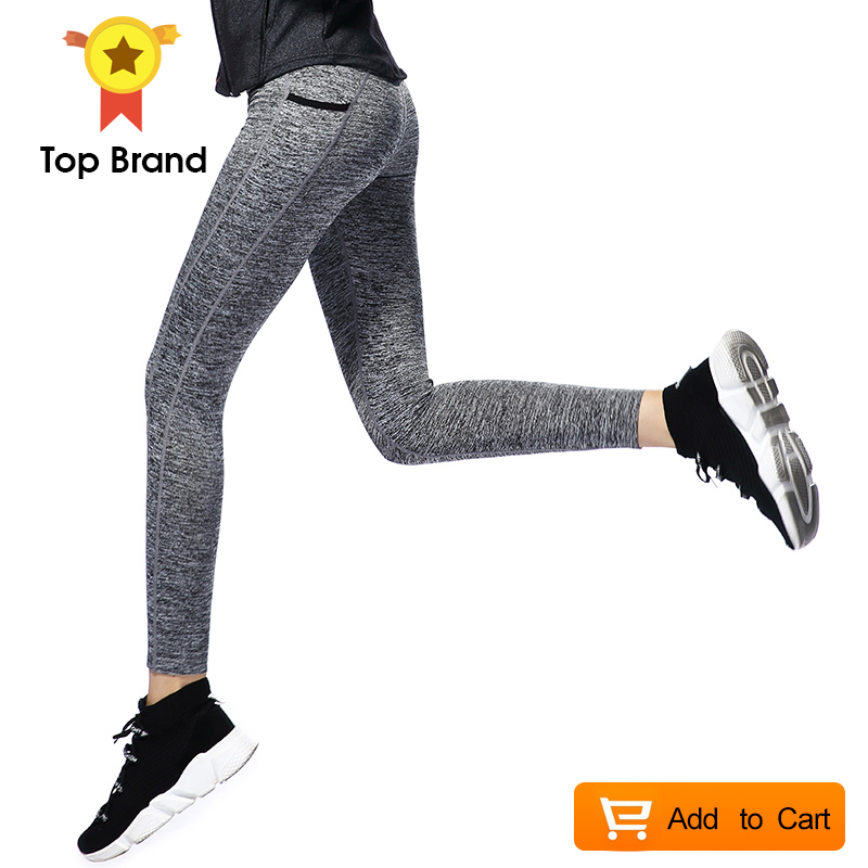 Women Sport Leggings Pants Elastic Trousers Running High Workout Gym Fitness Tights Yoga Pants Sexy Yoga Leggings Female New fitness workout clothing and women s gym sports running girls slim leggings tops women yoga sets bra pants sport suit for female