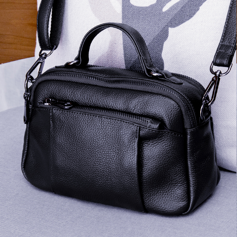 Brand Fashion Female Shoulder Bag Genuine Leather Women Handbag Casual Design Messenger Crossbody Bags for Women