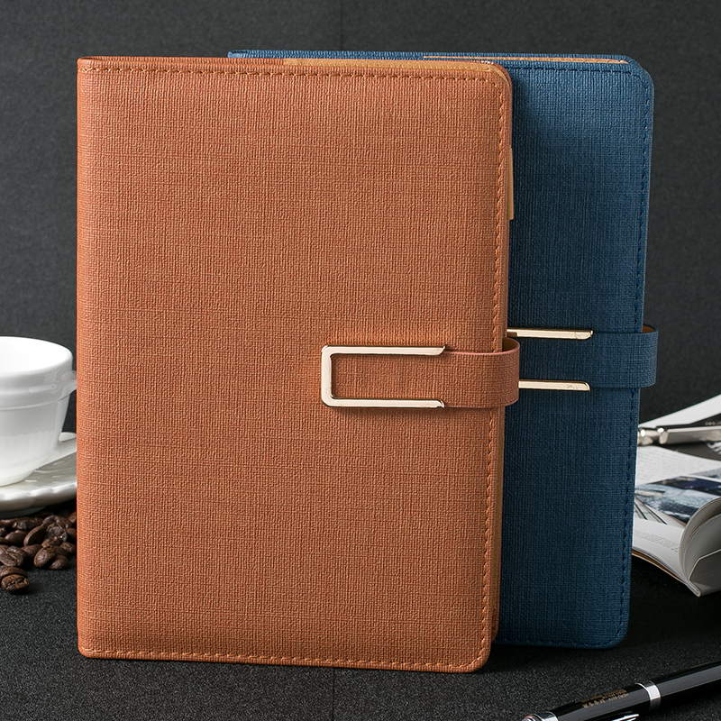 JUNPIN Business Notepad Buckle Notebook Thicker Creativity A5 Office Diary 1PCS