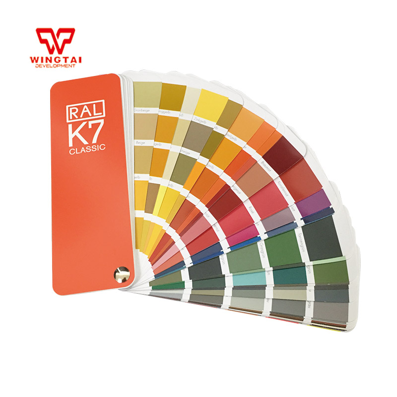 German RAL 213 kinds of colors Classic Colours Color chart RAL K7 цена