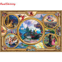 5D Diy Diamond Painting Cross Stitch full Square Diamond Embroidery cartoon characters picture for room Decor H1771