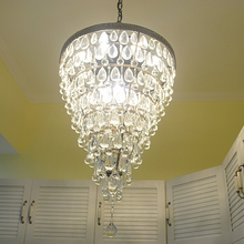 retro antique cooper crystal drops american empire style crystal chandelier restoration hardware lighting