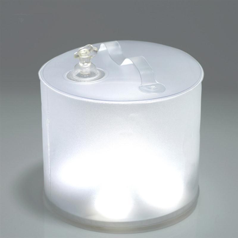 Gonflable lumière solaire 10 led solaire propulsé pliable gonflable ...