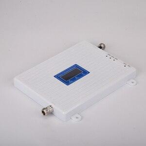 Image 3 - 4g 부스터 GSM WCDMA LTE UMTS 2g 3g 4g 휴대 전화 신호 부스터 70dB 900 1800 2100 트라이 밴드 신호 증폭기 리피터 유닛