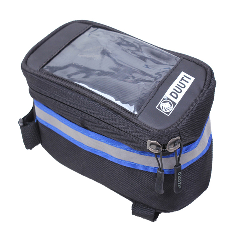 Waterproof/Reflective Bicycle Cycling Bike Bag Bicycle Accessories Phone Case L10*7CM Touchable PVC Screen 5-Colors C0005