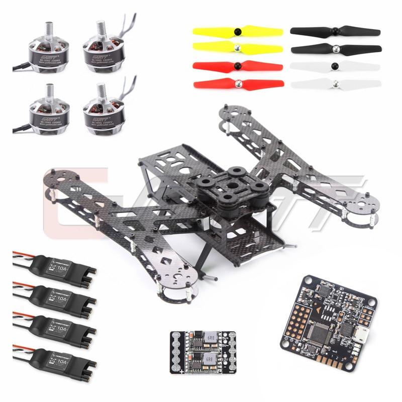 PLUTO-X2.5 interstellaire 250 Mini Drone en Fiber de carbone 250 FPV quadrirotor Kit de cadre COMBO drone RC