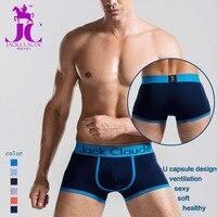 Seksi Erkek Iç Çamaşırı eşcinsel pantie Marka Boxer Şort Yumuşak Nefes Erkek Pamuk Külot Külot Toptan sıcak satış JackClaude