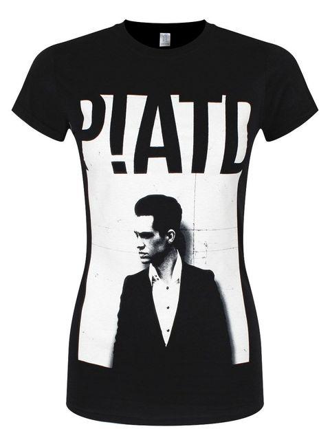 8c5f64bb Panic At The Disco Brendon Wall Women's Black PATD T-shirt Design Tops Hot  Sales Tee Shirts