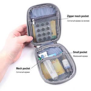 Image 2 - Mini ilk yardım çantası taşınabilir kamp açık tıbbi çanta taktik askeri ilk yardım çantası aile yürüyüş araba acil Survival çanta