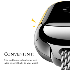 Image 4 - Gosear Full Protective Case Cover Skin Shell Screen Protector Film for Apple Watch iWatch Wach iWach Series 1 2 3 38mm 42mm