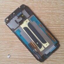 Dual sim жк-экран + сенсорный digiziter с черной рамкой для htc one e8 серебро/черный
