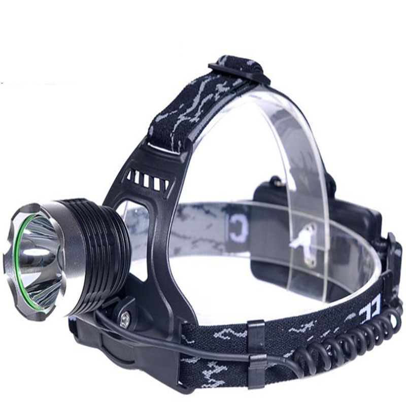 LED Headlight T6 LED Head Lamp Flashlight led headlamp battery +charger for camping hunting fishing hunting friends high power led headlamp led rechargeable head flashlight waterproof head lamp for fishing hunting camping
