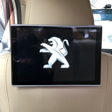 2PCS 11.8 inch Car Screen Android 7.1 Headrest Monitor DVD AV Player With Cable Kit For Peugeot 301 Pillow LCD