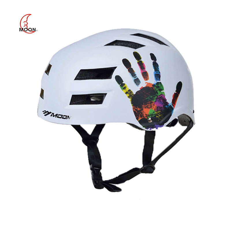 LUA Patinação Capacete de Bicicleta para Adultos & Kids New Rolo/Skating Equipamentos de Segurança Equitação Capacete casco Capacetes de Ciclismo ciclismo 2019