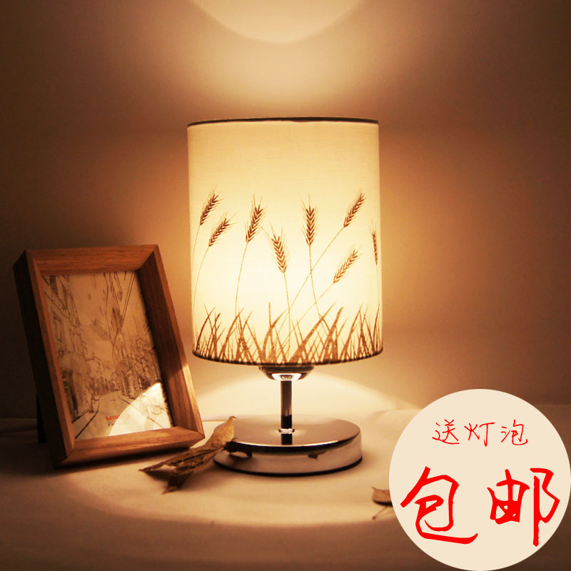 Modern brief rustic fashion ofhead decoration small table lamp dimming zipower pm 5150