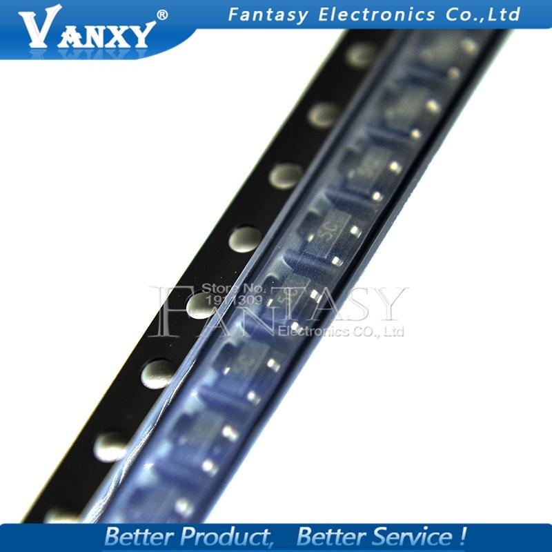 100PCS BC807-25 BC807-40 BC817-25 BC817-40 BC846B BC847B BC847C BC848B BC856B BC857B SOT23 Transistor New Original