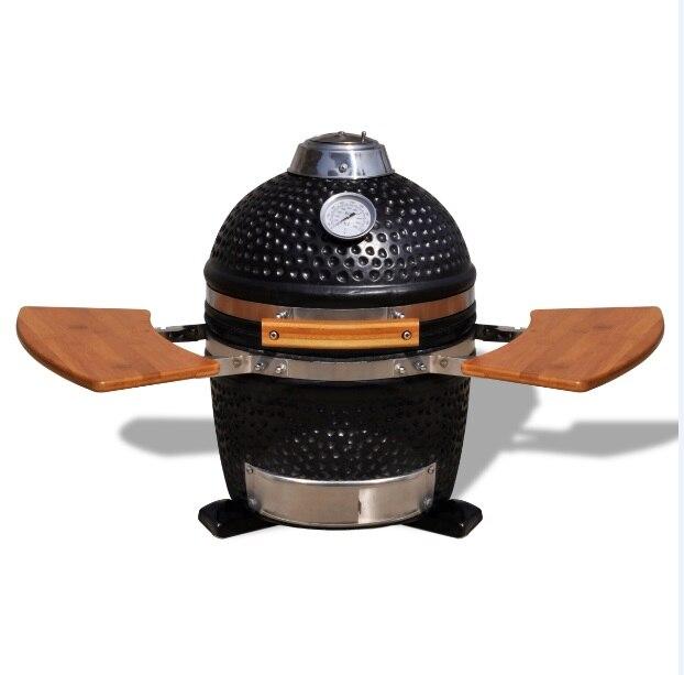 13 ''en céramique ronde kamado barbecue