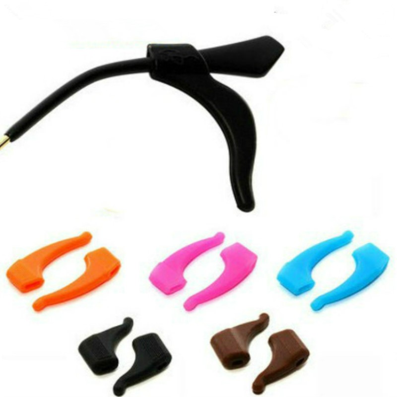 5 Pairs High Quality Silicone Anti-slip Holder For Glasses Accessories Ear Hook Sports Eyeglass Temple