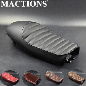 Racer Hump Custom Vintage Cushion HumpTracker Seat Saddle For Honda CB350 CB450 CB750 CB200 CB350 CB400
