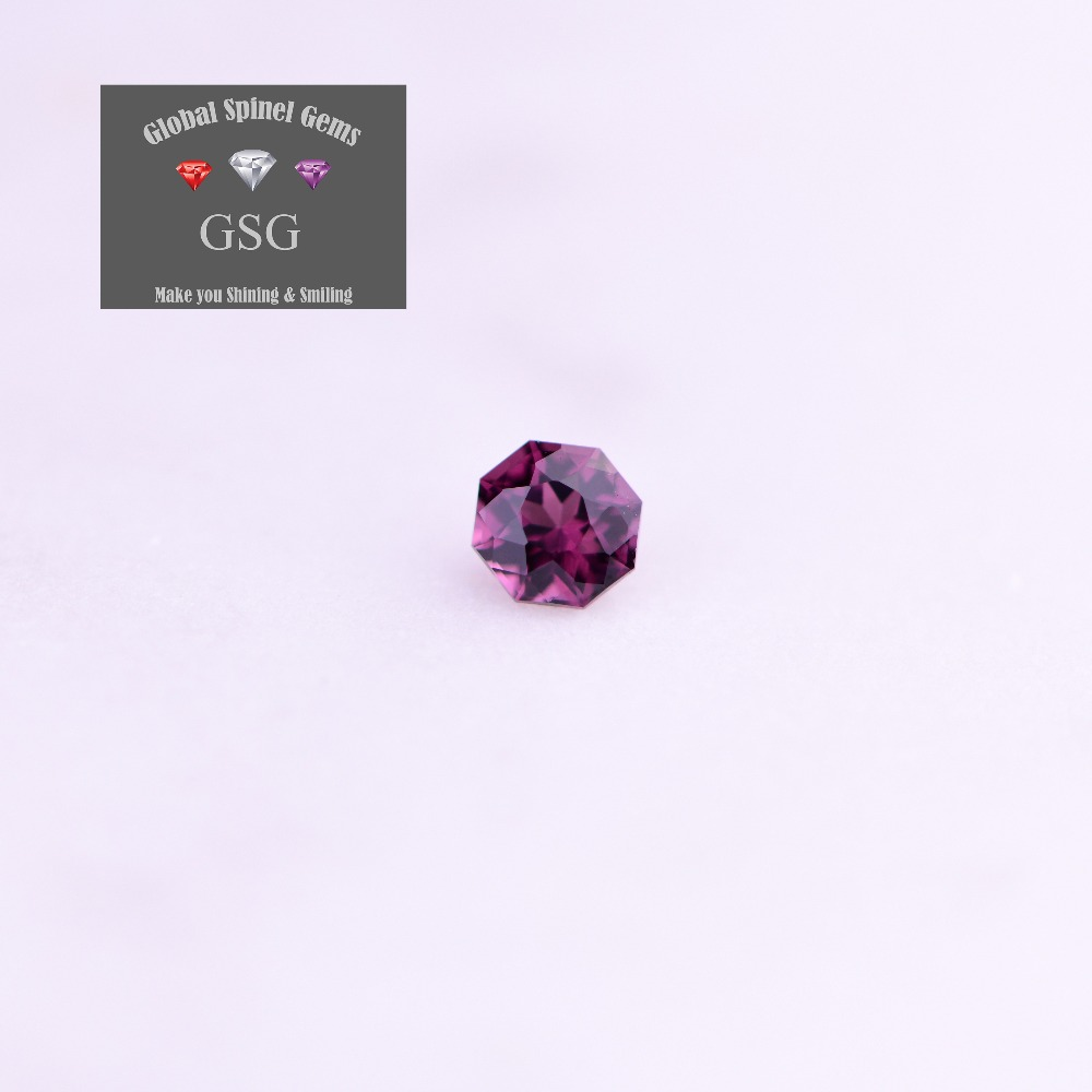 100% Natural Spinel gemstone 0.26ct 3.5x3.5x2.6mm for jewelry directly sends to your hand from GSG Thailand cutting factory