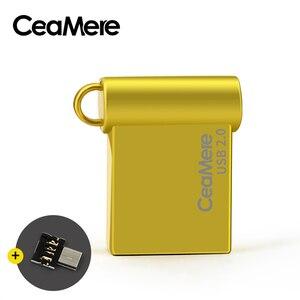 Image 4 - Ceamere CD06 USB Flash napęd 4GB/8GB/16GB/32GB/64GB Pen Drive Pendrive USB 2.0 dysk Flash Pendrive dysk USB 1GB 2GB