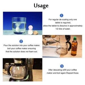 Image 5 - 40Tabets/Set çevre dostu kahve tencere temizlik tabletleri kireç çözücü Tablet kahve makinesi için ev aksesuarları cafeteira