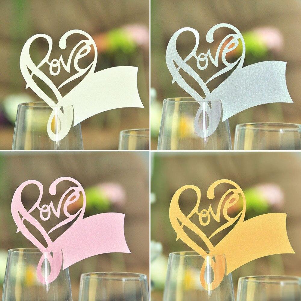 50 /'personalizado que Amor Glow/' Glow Stick Etiquetas Fiesta Aniversario de Bodas