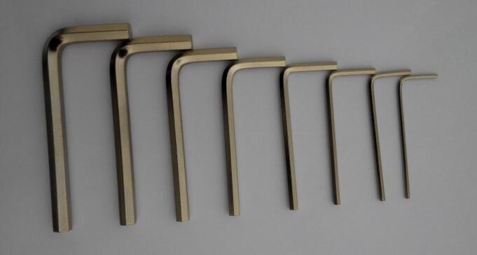 8 шт. никелирование внутренний шестигранный ключ L ключ 1.5/2/2.5/3/4/5 /6/8 мм