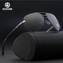 KDEAM Mens Sunglasses Brand Designer Pilot Polarized Male Sun Glasses Eyeglasses gafas oculos de sol masculino KD143S