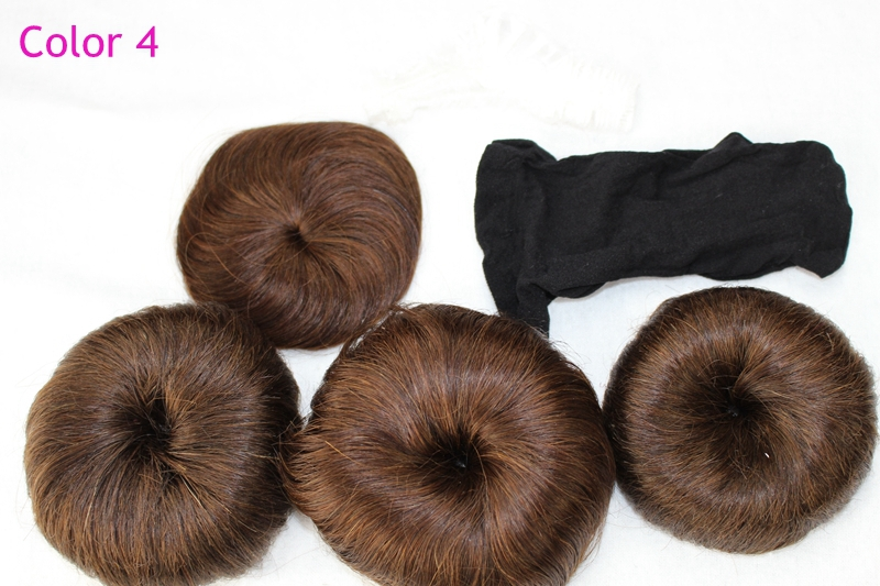 3 pcs Fashion style short hair 27 piece short hair bump human short hair weaving with free closure 4 color available fast ship