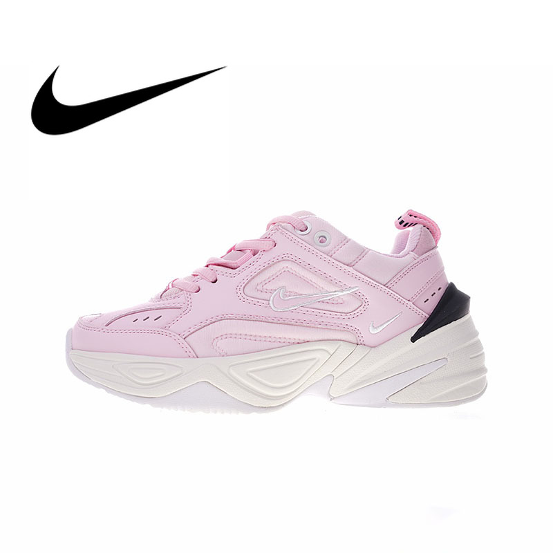 Nike M2K Tekno Authentic Womens Running Shoes Sport Comfortable Outdoor Sneakers Wear Resistant Athletic Designer FootwearNike M2K Tekno Authentic Womens Running Shoes Sport Comfortable Outdoor Sneakers Wear Resistant Athletic Designer Footwear